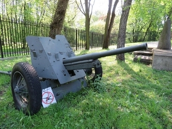Soviet 45mm AT Gun model 1937 Walk Around