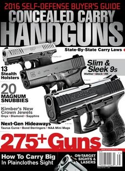 Concealed Carry Handguns 2016 Self-Defense Buyer's Guide