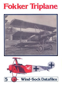 Fokker Triplane (Windsock Datafile 5)