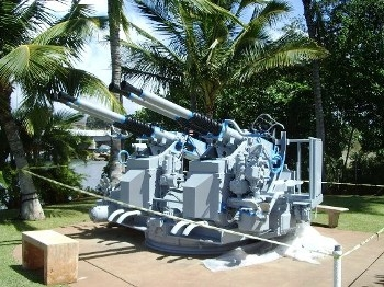 40mm/56 Bofors Mark 2 Quad Anti-Aircraft Mount Walk Around