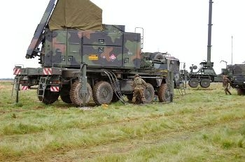 Patriot Missile Battery Setting Up Photos