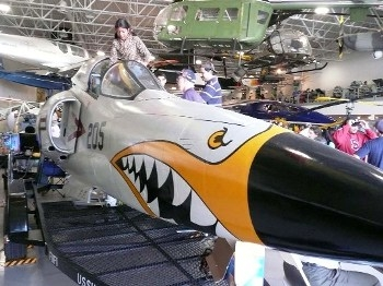 Grumman F11F Tiger Nose Walk Around
