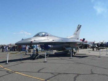 General Dynamics F-16C Fighting Falcon Walk Around