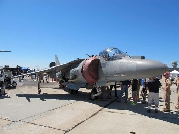 McDonnell Douglas AV-8B Harrier II Plus Walk Around