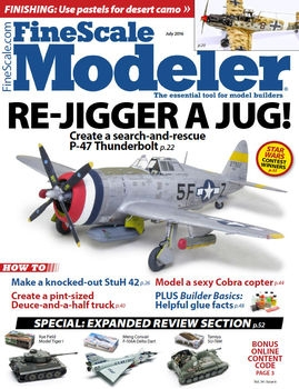 FineScale Modeler 2016-06 (Vol.34 No.06)