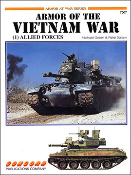 Concord - 7007 - [Armor At War Series] ARMOR OF THE VIETNAM WAR: (1) ALLIED FORCES