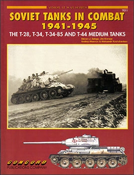 Concord 7011 - [Armor At War Series] - Soviet Tanks in Combat 1941-45 The T28 T34 T34-85 and T44 Medium Tank