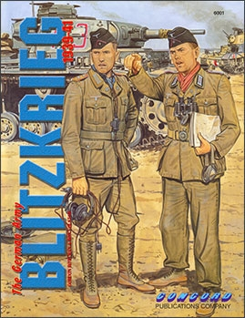 Concord Publications 6001 - FIGHTING MEN SERIES - The German Army Blitzkrieg 1939-41