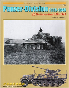 Concord 7034 - [Armor At War Series] Panzer division 1935-1945 (2) the eastern front 1941-1943