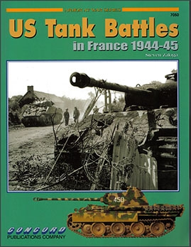 Concord 7050 - [Armor At War Series] US Tank Battles in France 1944-45