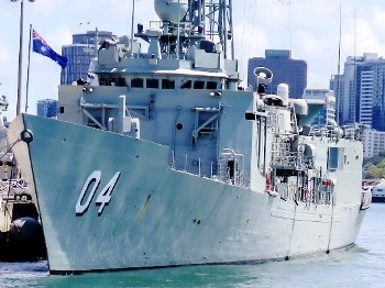 HMAS Darwin (FFG 04) Walk Around