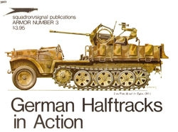 German Halftracks in Action  (Squadron Signal 2003) (New Scan)