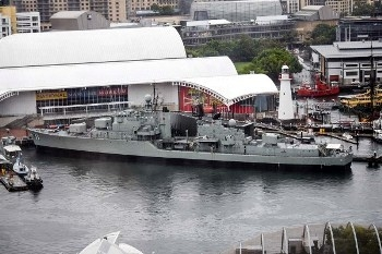 HMAS Vampire (D11) Walk Around