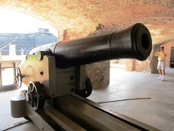 US 42pdr Seacoast Gun Model 1845 Walk Around
