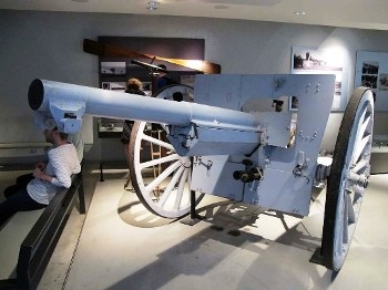 French Canon de 75 modele 1897 Walk Around