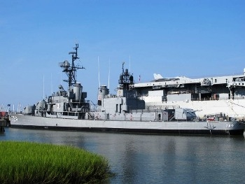 USS Laffey DD-724 Walk Around