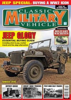 Classic Military Vehicle 2016-10