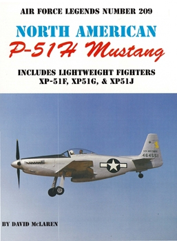 North American P-51H Mustang (Air Force Legends №209)