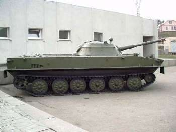 PT-76 Walk Around