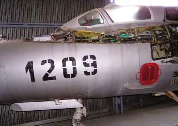 MiG-21MA Fishbed (Stripped) Walk Around