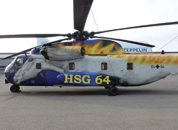 Sikorski CH-53G Sea Stallion Walk Around