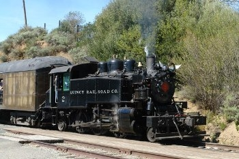 Quincy Railroad 1924 ALCO 2-6-2T Walk Around
