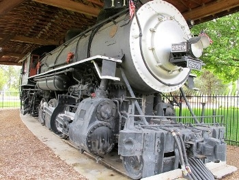 Southern Pacific 1-4-0 Consolidation Locomotive 2579 Walk Around