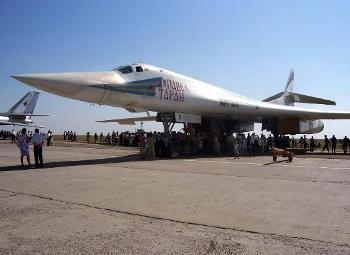 Tu-160 Blackjack Walk Around