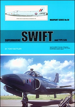 Warpaint 058 - Supermarine Swift
