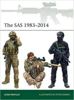The SAS 1983-2014 (Osprey Elite 211)