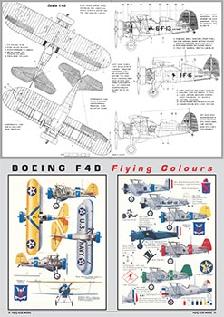 Flying Scale Models 2010 - 2017: Scale Drawings and Colors