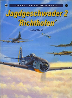 Osprey - Aviation Elite Units № 1 - Jagdgeschwader 2 'Richthofen'