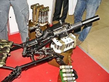 6G28 Balkan Automatic Grenade Launcher Walk Around