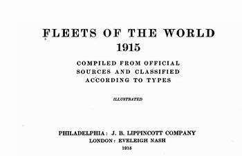 Fleets of the World 1915