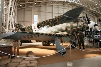 Macchi C.205 Walk Around