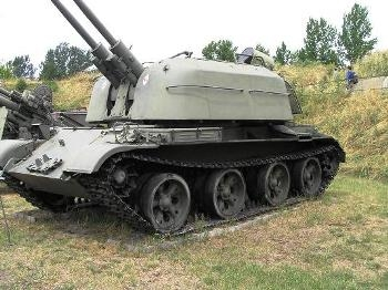 ZSU-57-2 Walk Around