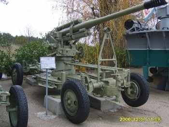 85 mm Anti-aircraft gun 52-K Walk Around