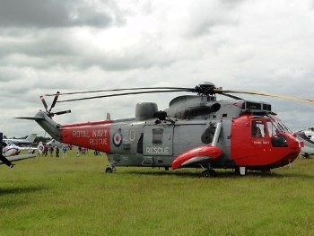 Westland Seaking HU.5 Walk Around