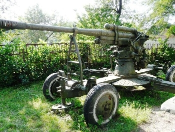 Anti-aircraft gun 52-К 85 mm mod. 1939 Walk Around