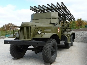BM-13 on a ZiL-157 chassis Walk Around