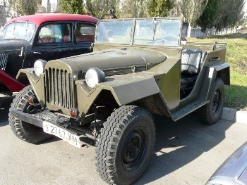 GAZ-67 Walk Around