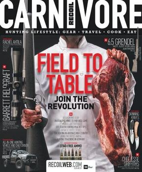 Recoil Presents Carnivore - Issue 1 2017
