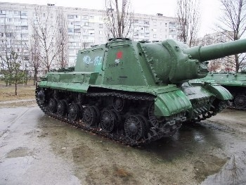 ISU-152 Walk Around