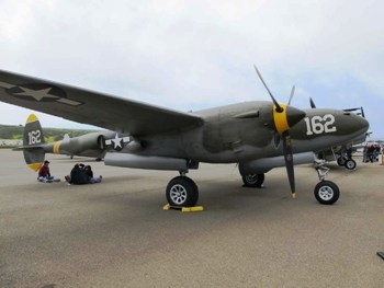Lockheed P-38J Lightning Walk Around