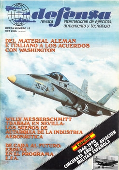 Cincuenta Anos de Aviacion Militar Espanola 1940-1990 (Defensa Extra №15)