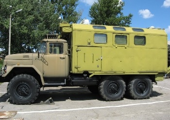 PARM-2 on a ZiL-131 chassis Walk Around