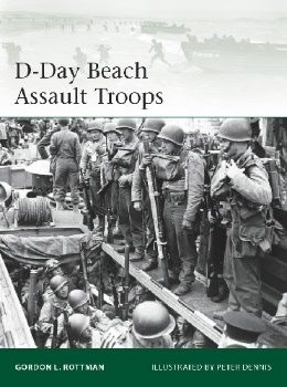 D-Day Beach Assault Troops (Osprey Elite 219)