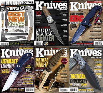 Knives Illustrated - 2017 Full Year Issues Collection