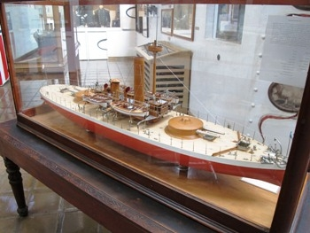 Ship Model - Monitor USS Miantonomoh BM-5 Model Photos