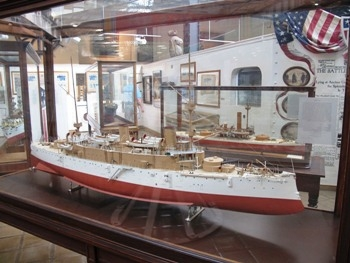 Ship Model - Protected Cruiser USS Olympia C-6 Model Photos